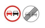 Знак обгон запрещен 3.20: штраф за обгон в 2020 году, зона действия, пдд