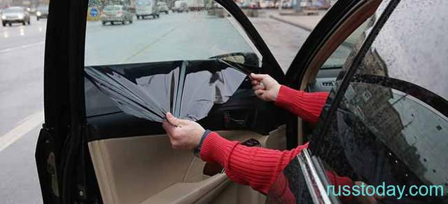 Штраф за тонировку в 2020 году: лобового и передних боковых стекол