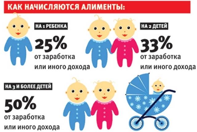 Алименты на 1 ребенка в 2020 году: размер, сколько процентов