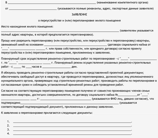 Согласование перепланировки квартиры в 2020 году: стоимость, порядок, документы