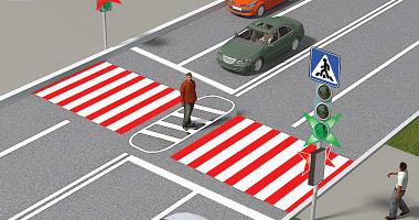 Обгон на пешеходном переходе в 2020: штраф или лишение