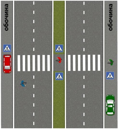Запрещен ли обгон в зоне действия знака пешеходный переход на трассе