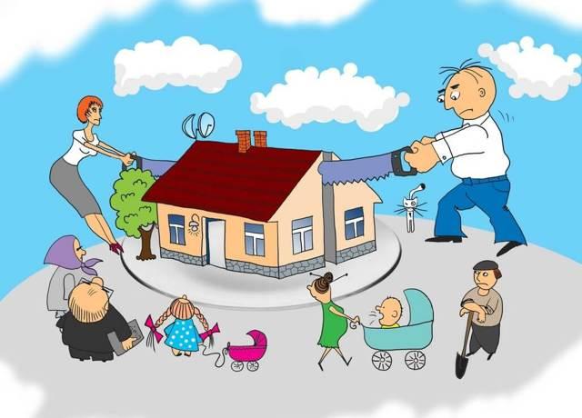 Наследники первой очереди без завещания (по закону) - распределение и правила наследования имущества